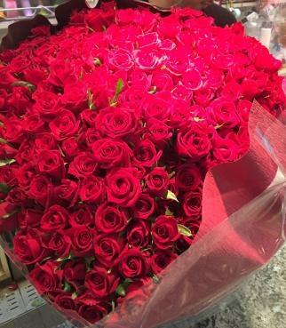 290本の花束